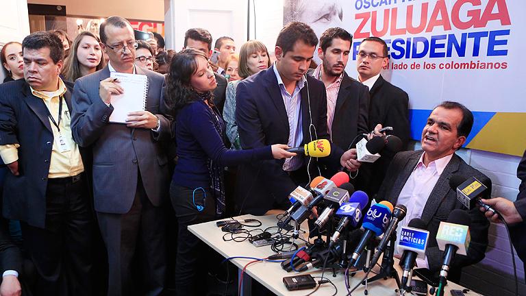 Un vídeo calienta la campaña de Colombia al desvelar un escándalo de espionaje