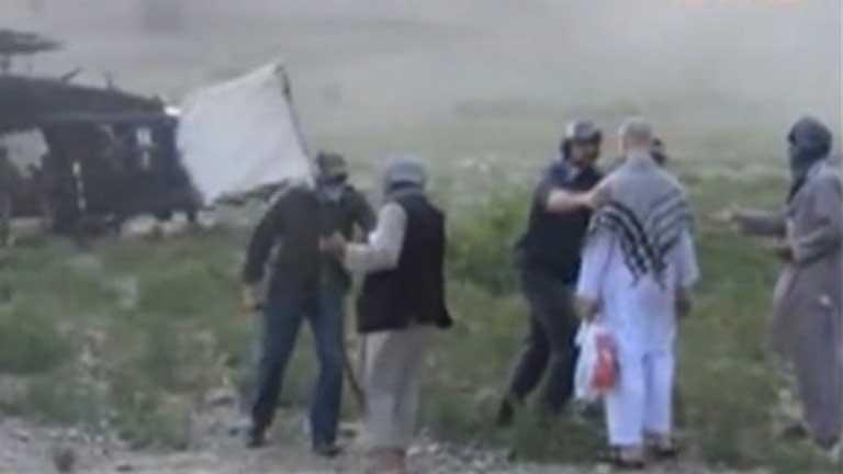 Polémica en Estados Unidos por el vídeo con la liberación en Afganistán del soldado Berghald
