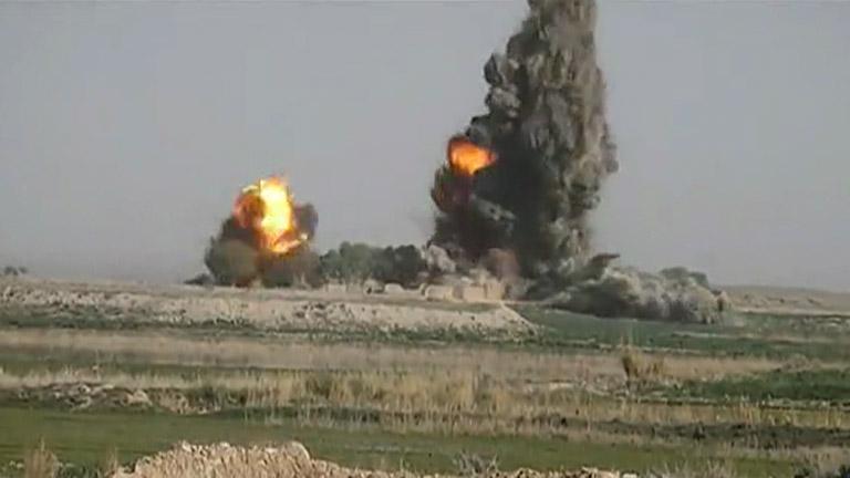Los vídeos de guerra grabados por soldados son un negocio en internet