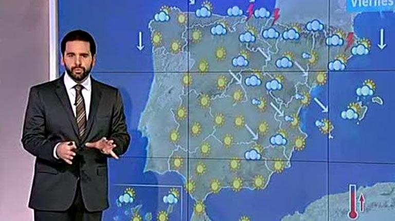 Vientos muy fuertes y lluvias en el norte y noreste