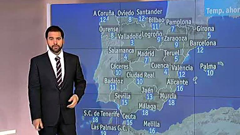 Vientos fuertes y lluvias en el Cantábrico y Pirineo
