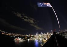 View of the Sydney city skyline