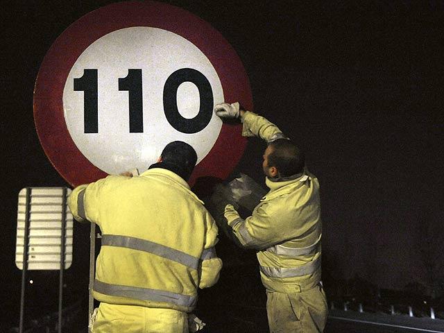 Entra en vigor la reducción de la velocidad máxima en autovías a 110 km/h para ahorrar energía