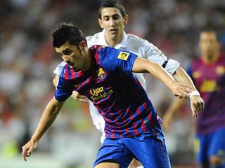 Ver vídeo  'Villa empata para el Barça (1-1)'