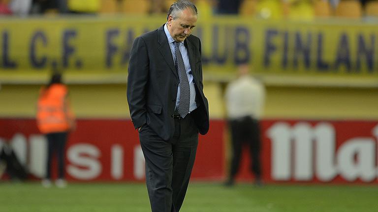 Villarreal, de Champions a Segunda