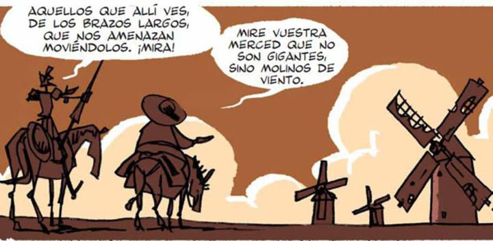 La mejor versión de 'Don Quijote' en cómic - RTVE.es