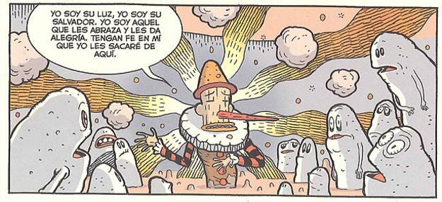 Viñeta de 'Paolo Pinocchio', de Lucas Varela