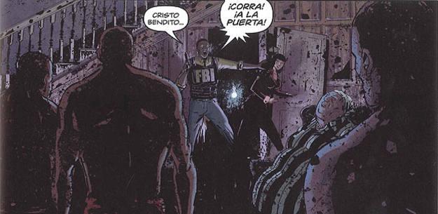 Viñeta de 'Tambores', de El Torres, Abel García y Fran Gamboa