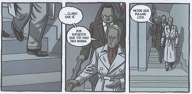 Viñetas de 'El invierno del dibujante', de Paco Roca