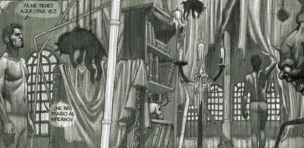 Viñetas de 'El lado salvaje' de Rafa Fronteriz