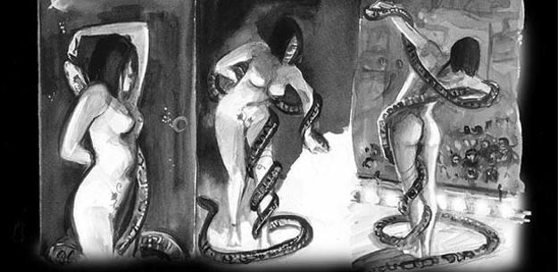 Viñetas de 'Serpientes y escaleras', de Alan Moore y Eddie Campbell