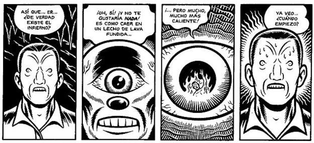 Viñetas de 'Skin deep', de Charles Burns