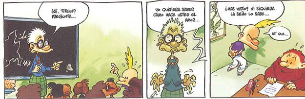 Viñetas de 'Titeuf', de Zep