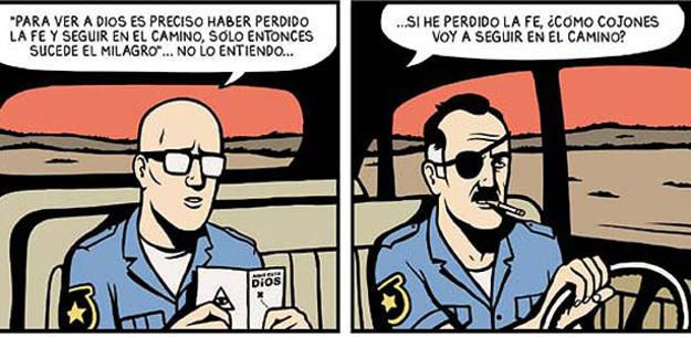 Viñetas de 'Tú me has matado', de David Sánchez