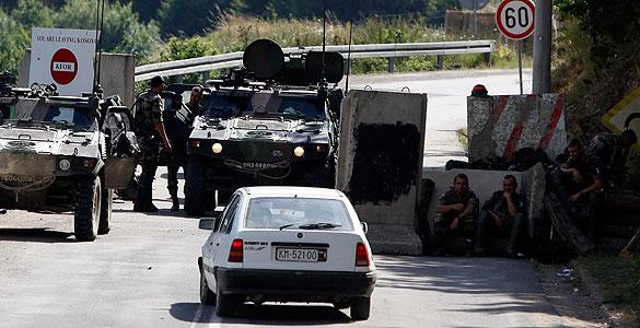 Violentos distrubios etnicos en Kosovo