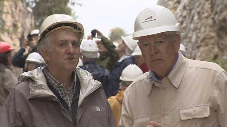 Donald Johanson, descubridor del primer Australophitecus Afarensis, visita Atapuerca