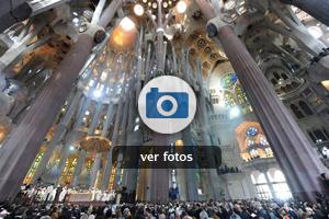 Visita de Benedicto XVI a Barcelona