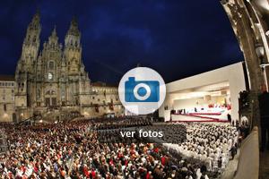 Visita de Benedicto XVI a Santiago