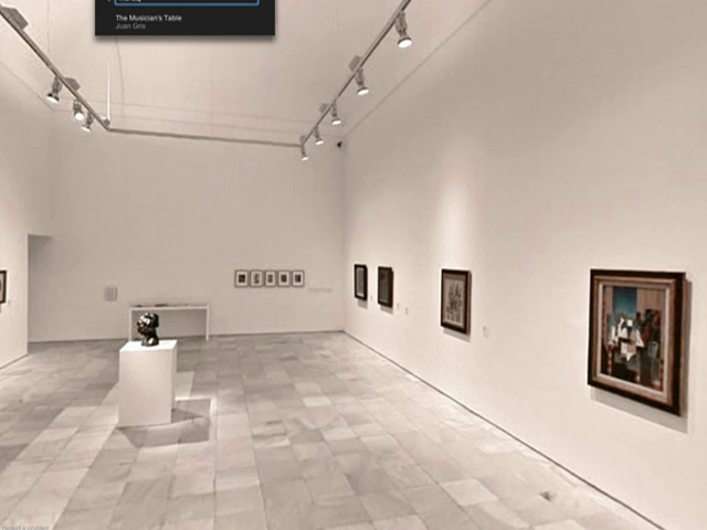 Visita virtual al museo Reina Sof&iacute;a en 'Google Art Project'