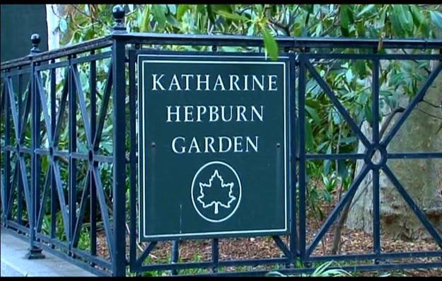 Visitamos el jardín dedicado a Katharine Hepburn, el parque más pequeño de la ciudad - Buscamundos