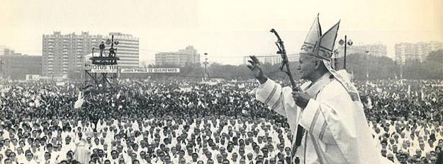 Visitas del papa: de Juan Pablo II en la España del 'cambio' a la peregrinación de Benedicto XVI