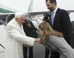 Las visitas papales a España