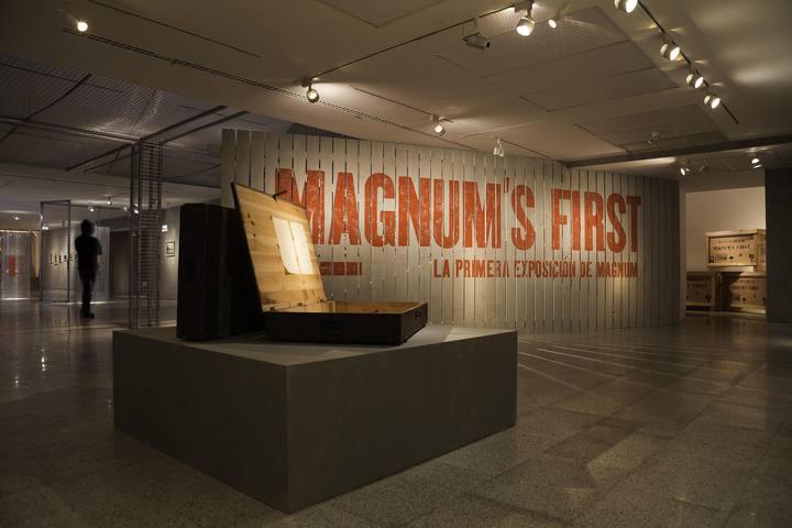 Vista de la exposición que ofrece en Madrid la Fundacion Canal