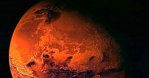 Imagen de Marte recreada por la ESA.