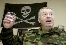 Vladimir Yirinovsky, líder del ultradrechista Partido Liberal Democrático de Rusia