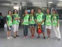 """Voluntarios de la organización """"sitúan"""" a los peregrinos"""