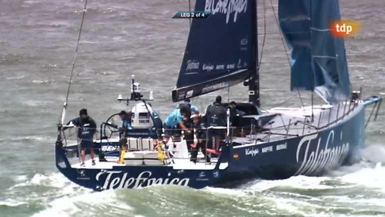 Vela - Volvo Ocean Race - Resumen regata costera
