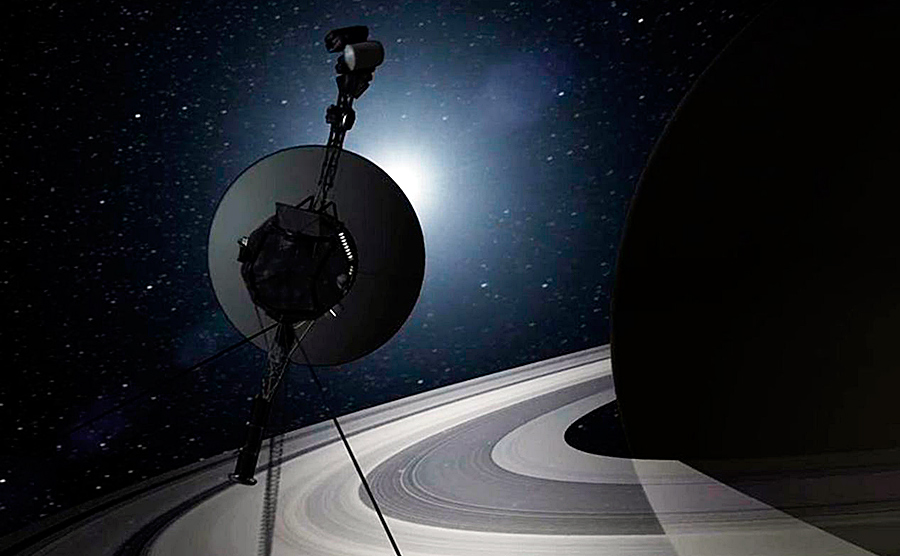 Voyager 1: en los confines del sistema solar