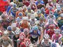 Subida a la Pandera, en Jaén, en la Vuelta '09.