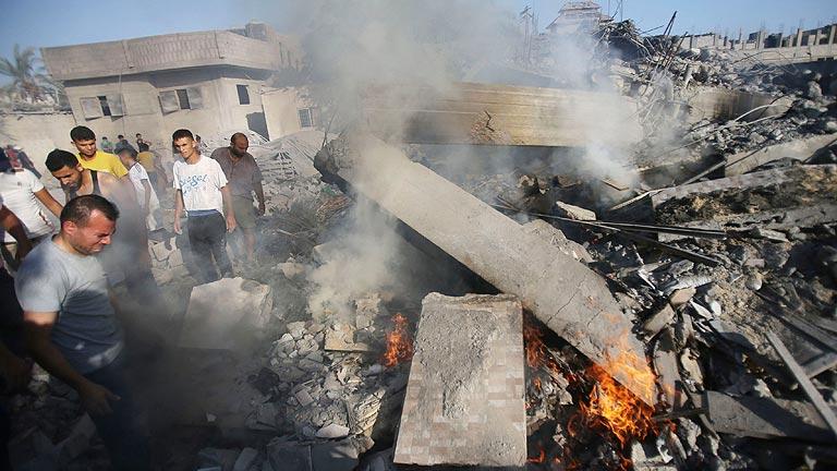 Vuelven los bombardeos a Gaza tras la ruptura de la tregua