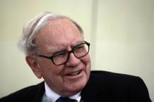 El inverso estadounidense Warren Buffett durante una rueda de prensa el 21 de mayo de 2008.