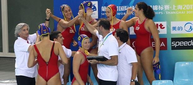 El equipo español de waterpolo femenino ha finalizado en undécima posición.