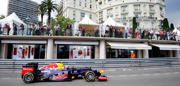 Webber logra la 'pole' en Mónaco y Alonso saldrá quinto