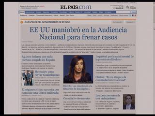 Ver v?deo  'Wikileaks revela que EE.UU. presionó a España para frenar algunas causas judiciales'