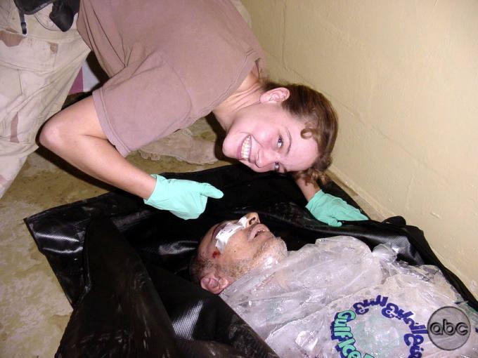 Резервист армии США Сабрина Харман, признанная виновной в издевательствах н