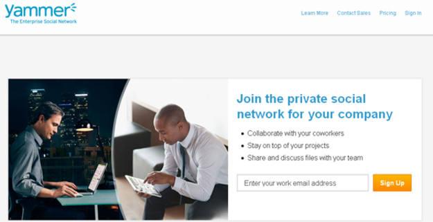 Yammer, una red social privada para empresas