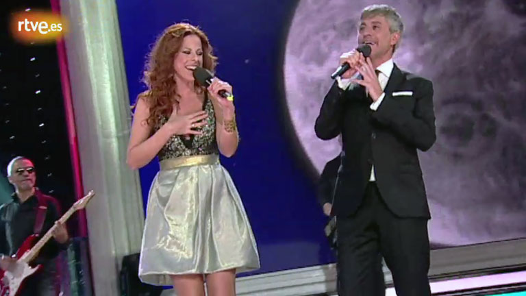 Sergio Dalma. Vía Dalma - Yo no te pido la luna, con Pastora Soler