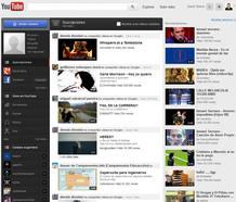 El nuevo diseño de YouTube pretende facilitar las búsquedas de los usuarios