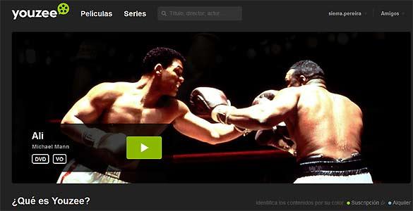 Youzee es una de las últimas plataformas españolas que ofrecen contenidos audiovisuales de pago