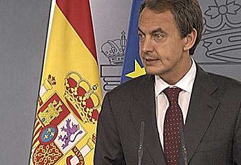 """Ver v?deo  'Zapatero anuncia un giro """"político"""" en su Gobierno'"""