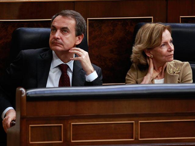 """Ver v?deo  'Zapatero considera """"una buena noticia"""" la desconvocatoria de huelga de AENA'"""