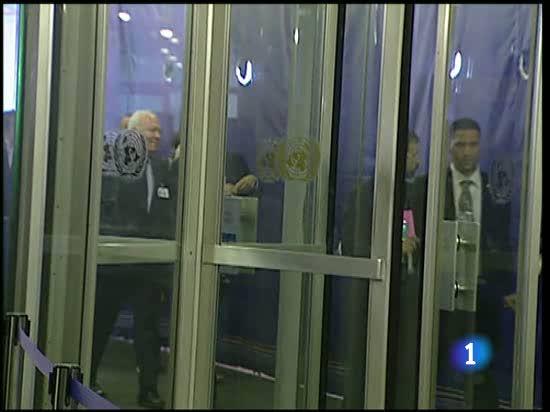 Zapatero en la Cumbre de los Objetivos del Milenio de la ONU