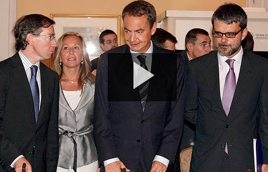 """Zapatero: """"El sistema financiero español es el más sólido del mundo"""""""