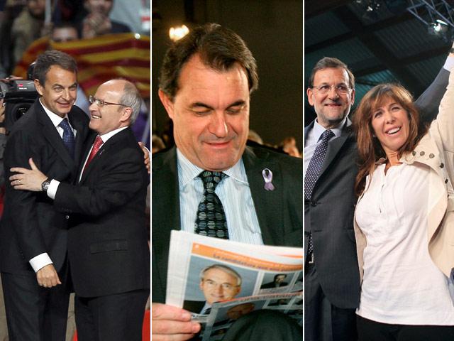 Ver v?deo  'Zapatero y González arropan a Montilla'
