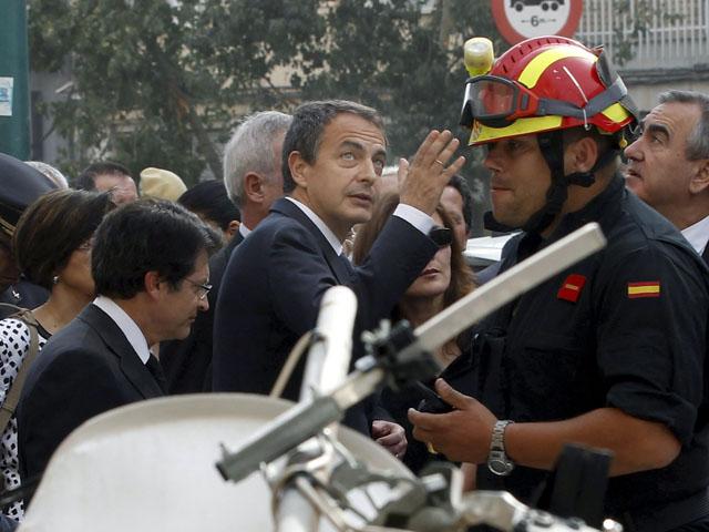"""Ver v?deo  'Zapatero: """"El terremoto ha sido fuerte, España lo es más""""'"""