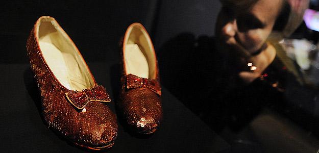 Los zapatos de Dorothy, El Mago de Oz